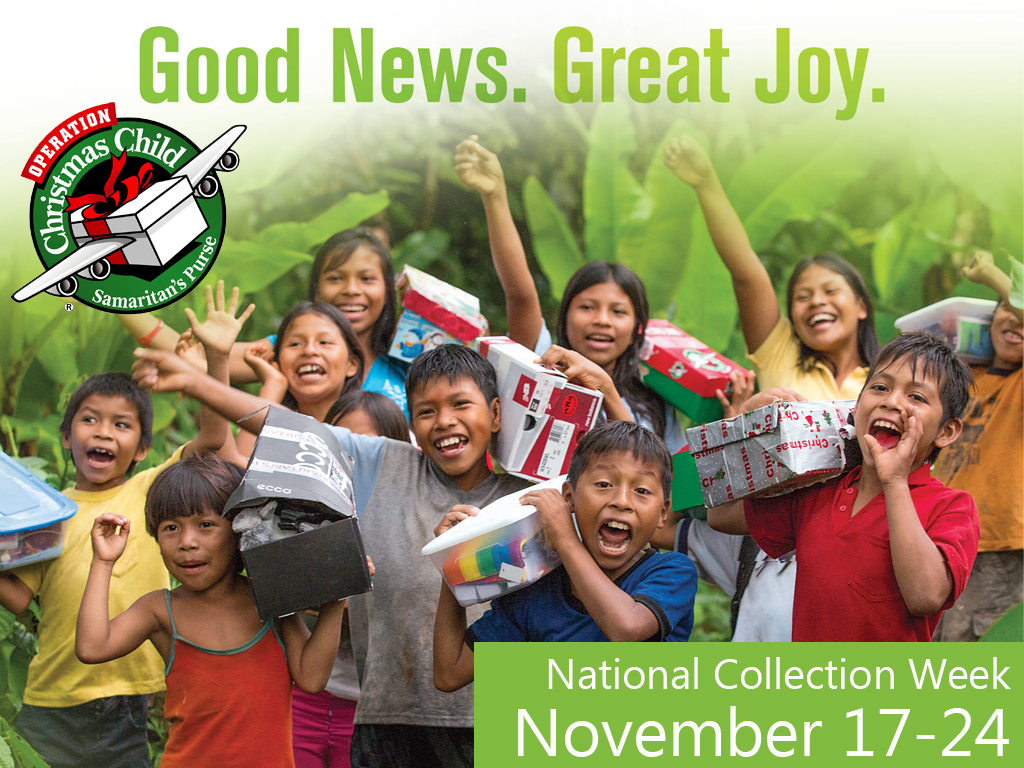 Operation Christmas Child Collection Week is here! | CCC ...